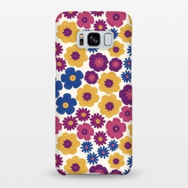 Galaxy S8+  Pop Floral by TracyLucy Designs