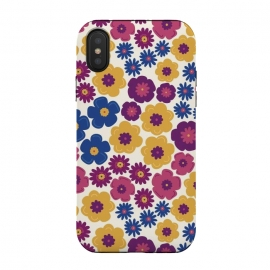 Pop Floral by TracyLucy Designs (pop,floral,nature,feminie,chic,pattern)