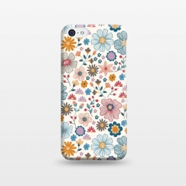 iPhone 5C  Winter Wild Bloom  by TracyLucy Designs