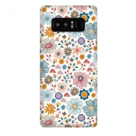 Galaxy Note 8  Winter Wild Bloom  by TracyLucy Designs