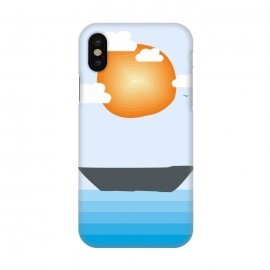 iPhone X  Lost Ship by Creativeaxle