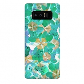 Galaxy Note 8  Lucky Leaves v2 by Creativeaxle
