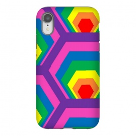 RAINBOW ABSTRACT PATTERN by MALLIKA