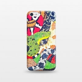 iPhone 5C  Snakes by Chloe Yzoard