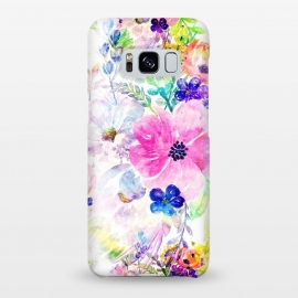 Pretty watercolor floral hand paint design by InovArts