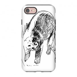iPhone 8/7  Otter in lines by Belette Le Pink