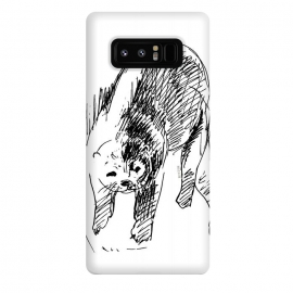 Galaxy Note 8  Otter in lines by