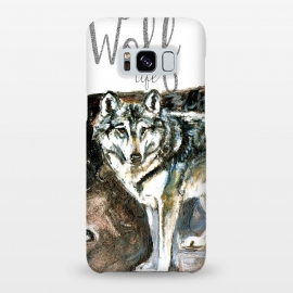 Galaxy S8+  Wolf life by Belette Le Pink