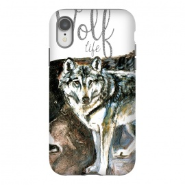iPhone Xr  Wolf life by Belette Le Pink