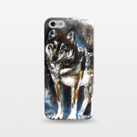 iPhone 5/5E/5s  Totem timber wolf by Belette Le Pink