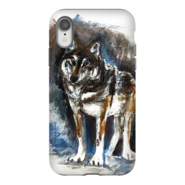 iPhone Xr  Totem timber wolf by Belette Le Pink