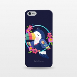 iPhone 5/5E/5s  Tropical Toucan by
