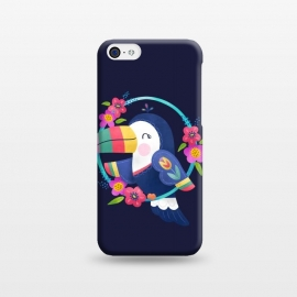 iPhone 5C  Tropical Toucan by Noonday Design