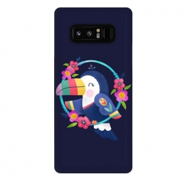 Galaxy Note 8  Tropical Toucan by Noonday Design