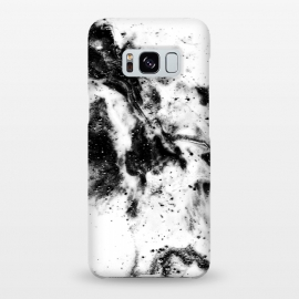 Galaxy S8+  BW1 by Ashley Camille (black and white,black,white,paint,abstract)