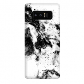 Galaxy Note 8  BW1 by Ashley Camille (black and white,black,white,paint,abstract)