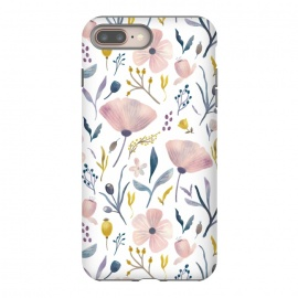 Delicate Pastel Floral by Noonday Design