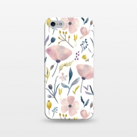 iPhone 5/5E/5s  Delicate Pastel Floral by Noonday Design