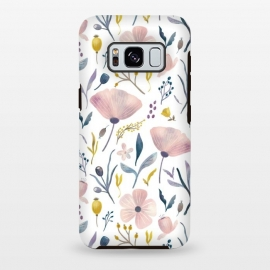 Galaxy S8+  Delicate Pastel Floral by Noonday Design