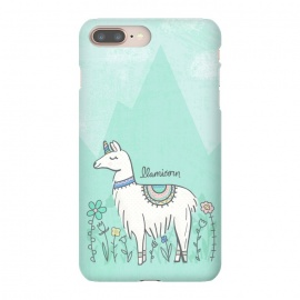 iPhone 8/7 plus  Llovely Llamicorn by
