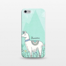 iPhone 5/5E/5s  Llovely Llamicorn by Noonday Design