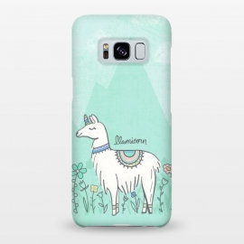 Galaxy S8+  Llovely Llamicorn by Noonday Design