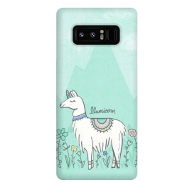 Galaxy Note 8  Llovely Llamicorn by