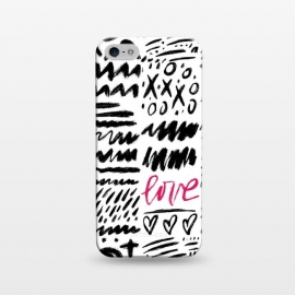 iPhone 5/5E/5s  Love Scribbles by Noonday Design