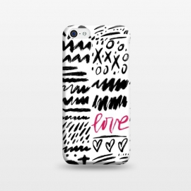 iPhone 5C  Love Scribbles by Noonday Design