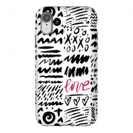 iPhone Xr  Love Scribbles by Noonday Design
