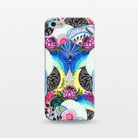 iPhone 5/5E/5s  Whimsical abstract hand paint design  by InovArts