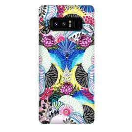 Galaxy Note 8  Whimsical abstract hand paint design  by InovArts