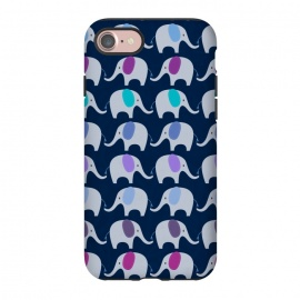 iPhone 8/7  Marching Elephants by Noonday Design