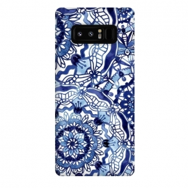 Galaxy Note 8  Delft Blue Mandalas by Noonday Design
