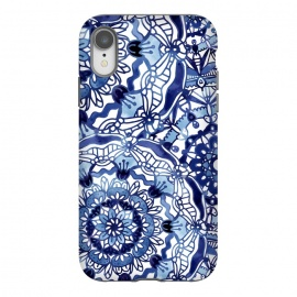 iPhone Xr  Delft Blue Mandalas by Noonday Design