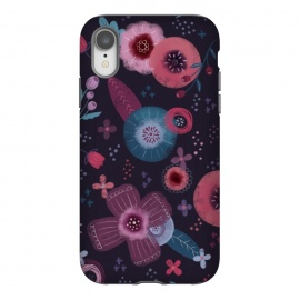 iPhone Xr  Autumn Floral by Noonday Design