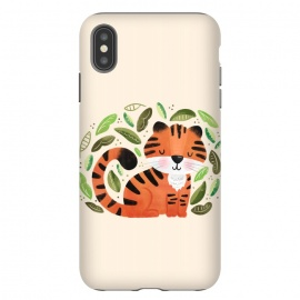 iPhone Xs Max  Tiger Cutie by Noonday Design