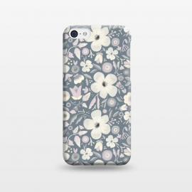 iPhone 5C  Dusty Flowers by Noonday Design