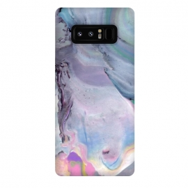 Galaxy Note 8  Pastel marble stone I by Susanna Nousiainen