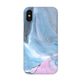 iPhone X  Pastel stone II by Susanna Nousiainen (blue,blue marble,stone,pastelstone,stonesurface,pastelsurface,marblestonesurface,trendy)