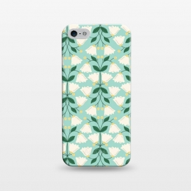 iPhone 5/5E/5s  Belle by TracyLucy Designs (Floral ,Bell,nature,pattern,sweet)
