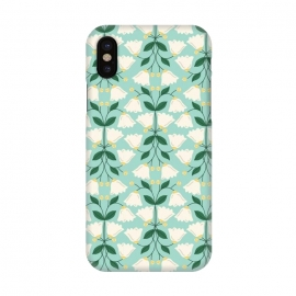 iPhone X  Belle by TracyLucy Designs (Floral ,Bell,nature,pattern,sweet)