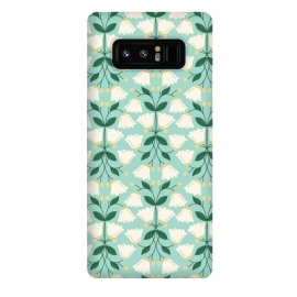 Galaxy Note 8  Belle by TracyLucy Designs (Floral ,Bell,nature,pattern,sweet)