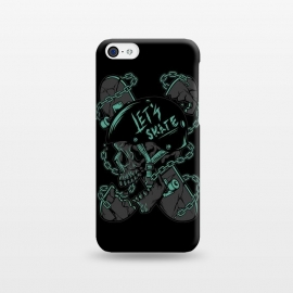 iPhone 5C  Skullboarder by Afif Quilimo