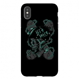 iPhone Xs Max  Skullboarder by Afif Quilimo