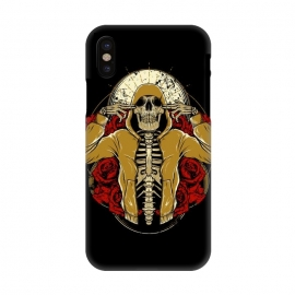 iPhone X  Hip Hop and Roses by Afif Quilimo