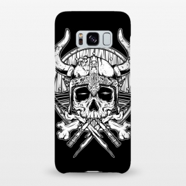 Galaxy S8+  Skull Viking by Afif Quilimo
