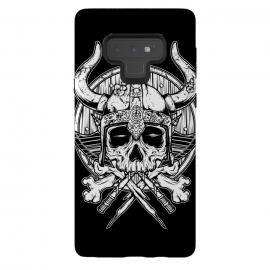 Galaxy Note 9  Skull Viking by