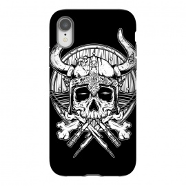 iPhone Xr  Skull Viking by Afif Quilimo