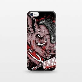 iPhone 5C  Pig Saw by Afif Quilimo